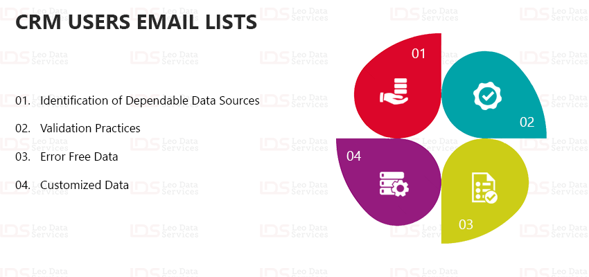 CRM Users Email Lists | CRM Users Mailing Database | Leo Data Services